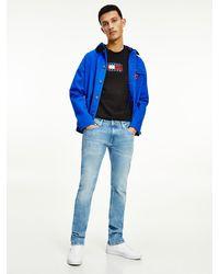 Tommy Hilfiger Scanton Slim Jeans Met Distressing - Blauw