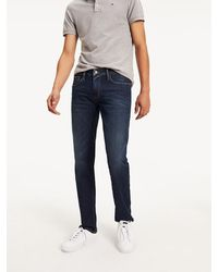 Tommy Hilfiger Straight Cut Comfort Jeans - Blauw
