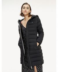 Tommy Hilfiger Lightweight Padded Puffer Coat - Black