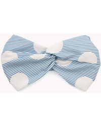 Tommy Hilfiger - Spot And Stripe Headband - Lyst