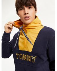 Tommy Hilfiger - Contrast Colour Zip-up Hoody - Lyst