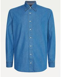 Tommy Hilfiger - Elevated Pure Cotton Denim Shirt - Lyst