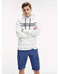 Tommy Hilfiger - Logo Embroidery Hoody - Lyst