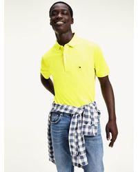 Tommy Hilfiger Slim Fit Katoenen Polo Met Logo - Meerkleurig