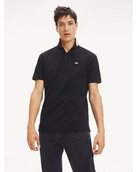 Tommy Hilfiger - Classics Tipped Stretch Organic Cotton Polo - Lyst