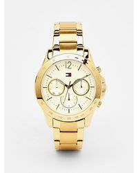 Tommy Hilfiger Haven Verguld Horloge - Metallic