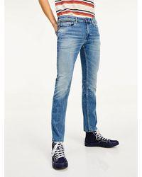 Tommy Hilfiger Scanton Slim Fit Jeans Met Dynamische Stretch - Blauw