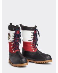 Tommy Hilfiger Heritage Duck Boot - Rood