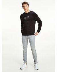 Tommy Hilfiger Th Flex Fleece Sweatshirt - Zwart