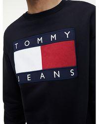 Tommy Hilfiger Sweatshirt Met Tommy Jeans-vlag - Zwart