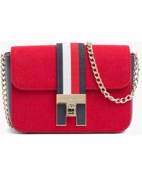 6c4c7d4f2be5 Tommy Hilfiger - Heritage Mini Crossover Bag - Lyst