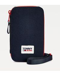 Tommy Hilfiger Urban Essentials Hanging Phone Case - Blue