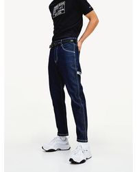 Tommy Hilfiger Carpenter Fit Tapered Workwear Jeans - Blauw