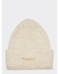 d4ea43cfb Alpaca Blend Embroidery Beanie - Natural
