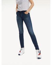Tommy Hilfiger Santana Skinny Jeans mit Dynamic-Stretch - Blau