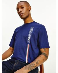 Tommy Hilfiger - Th Signature Pure Cotton Logo T-shirt - Lyst