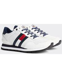 Tommy Hilfiger Sneakers Met Logo - Wit