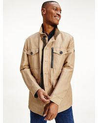 Tommy Hilfiger - Elevated Linen Field Jacket - Lyst
