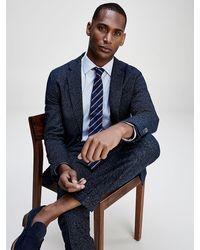 Tommy Hilfiger Packable Th Flex Slim Fit Suit - Blue