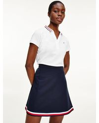 Tommy Hilfiger - Signature Collar Slim Fit Polo - Lyst