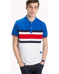 8147d859bee338 Tommy Hilfiger Organic Cotton Polo for Men - Lyst