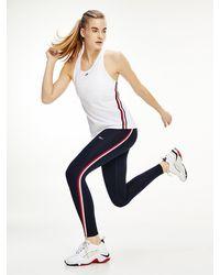Tommy Hilfiger Sport Skinny High Rise legging - Blauw