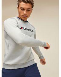 Tommy Hilfiger Sweatshirt Met Logo - Grijs