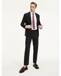 Tommy Hilfiger Regular Fit Pantalon - Zwart