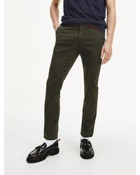 Tommy Hilfiger Bleecker Chino Met Th Flex - Zwart