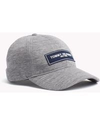 15a01e76b9c Tommy Hilfiger Logo Baseball Cap in Gray for Men - Lyst