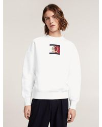 Tommy Hilfiger - Crest Embroidery Crew Neck Jumper - Lyst