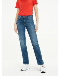 Tommy Hilfiger Tommy Jeans 1985 Straight Fit Jeans - Blauw