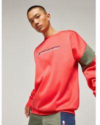 Tommy Hilfiger Colour-blocked Sweatshirt - Rood