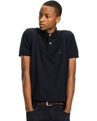 Tommy Hilfiger - Regular Fit Cotton Polo Shirt - Lyst