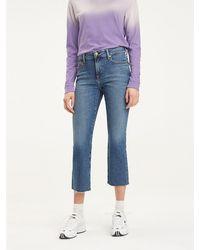 Tommy Hilfiger Crop Flare Fit Jeans - Blauw