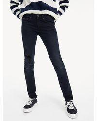 Tommy Hilfiger Skinny Fit Jeans mit Dynamic-Stretch - Blau