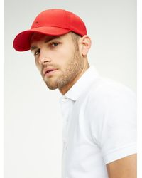 Tommy Hilfiger - Cotton Twill Cap - Lyst
