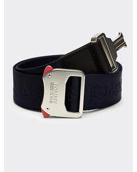 Tommy Hilfiger Fast Release Clip Belt - Blue