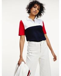 Tommy Hilfiger - Essential Colour-blocked Regular Fit Polo - Lyst