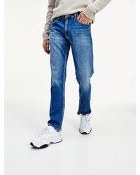 Tommy Hilfiger Ryan Straight Fit Jeans Met Zachte Finish - Blauw