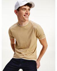 Tommy Hilfiger - Elevated Cotton Silk T-shirt - Lyst