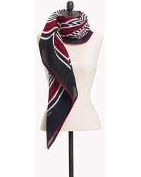Tommy Hilfiger - Abstract Stripe Scarf - Lyst