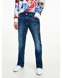 Tommy Hilfiger Ryan Bootcut Jeans Met Fading - Blauw