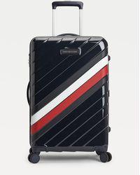 Tommy Hilfiger Signature 66cm Wheelie Case - Blue