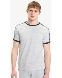 Tommy Hilfiger - Logo Tape T-shirt - Lyst