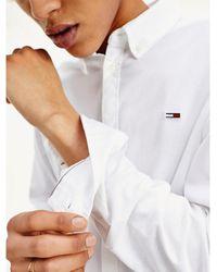Tommy Hilfiger - Stretch Cotton Slim Fit Shirt - Lyst