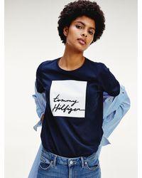 Tommy Hilfiger - Signature Logo T-shirt - Lyst