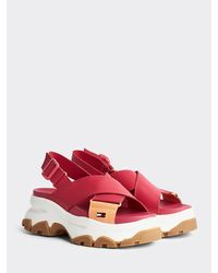 Tommy Hilfiger - Colour-blocked Chunky Sandals - Lyst