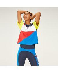 Tommy Hilfiger T-Shirt im Farbblockdesign - Blau