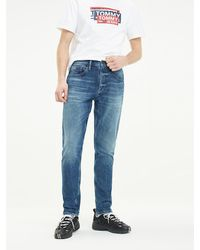 Tommy Hilfiger Tj 1988 Tapered Jeans - Blauw
